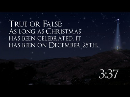 NATIVITY TRIVIA COUNTDOWN