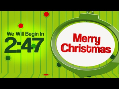 SIMPLE CHRISTMAS COUNTDOWN