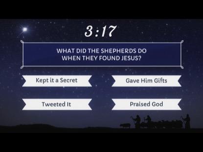 CHRISTMAS BIBLE  TRIVIA COUNTDOWN