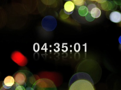 COLORED LIGHTS COUNTDOWN