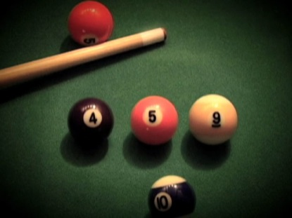 POOL TABLE COUNTDOWN