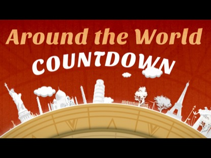 AROUND THE WORLD COUNTDOWN