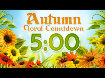 AUTUMN FLORAL COUNTDOWN