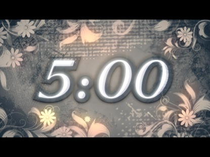 FLORAL FRAME COUNTDOWN
