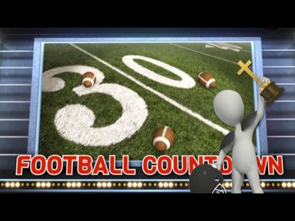 FOOTBALL THEMED COUNTDOWN