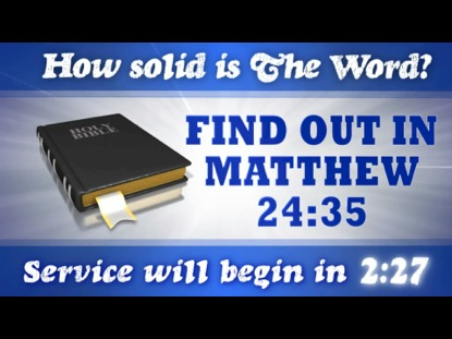 IT'S ALL IN THE BIBLE COUNTDOWN 3