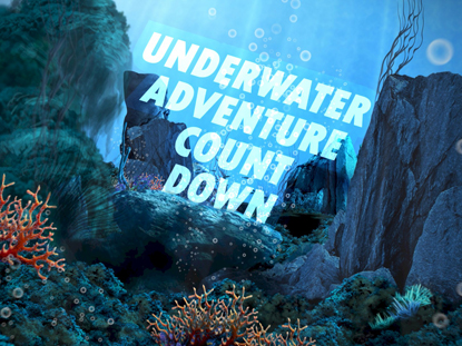 UNDERWATER ADVENTURE COUNTDOWN