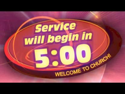 UPBEAT SERVICE COUNTDOWN