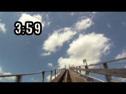 INSANE ROLLER COASTER COUNTDOWN