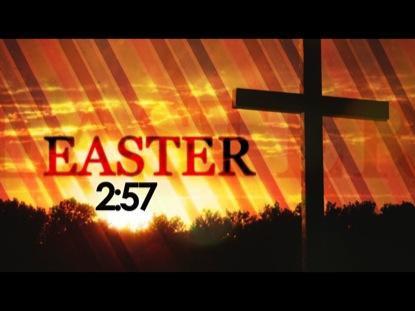 EASTER CROSS COUNTDOWN