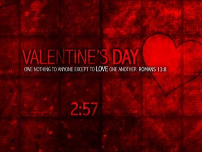 VALENTINE'S DAY 01 COUNTDOWN
