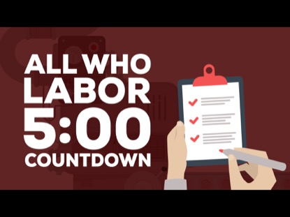 ALL WHO LABOR COUNTDOWN