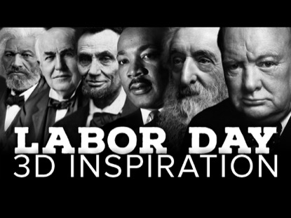 COUNTDOWN: LABOR DAY 3D INSPIRATION