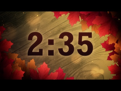 AUTUMN LEAVES COUNTDOWN