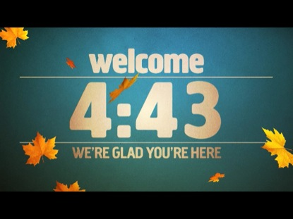 AUTUMN WELCOME COUNTDOWN