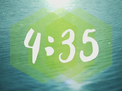 BAPTISM WATER COUNTDOWN