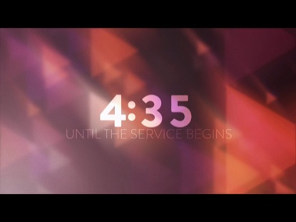 COLORFUL POLYGONS COUNTDOWN
