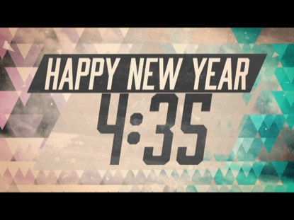 NEW TRIANGLES NEW YEARS COUNTDOWN