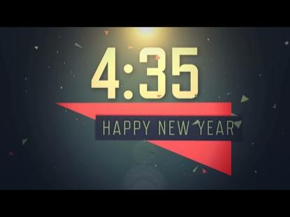 NEW YEARS CONFETTI COUNTDOWN
