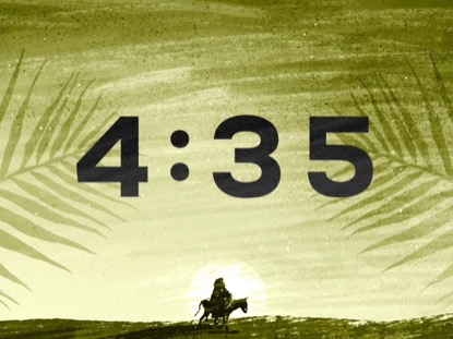 PAINTED PALM SUNDAY COUNTDOWN