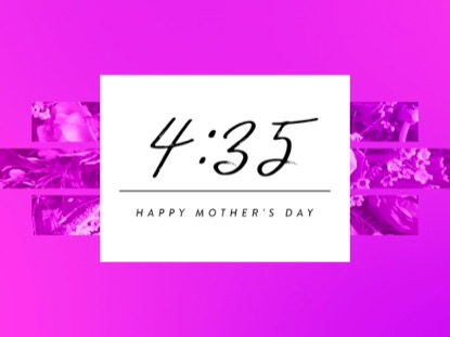 RADIANT GRADIENT MOTHER'S DAY COUNTDOWN
