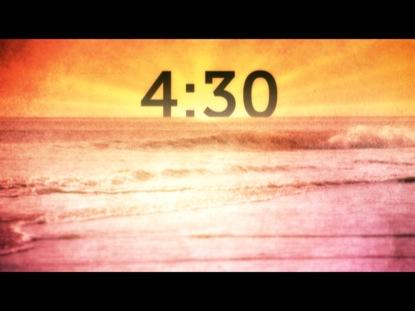SUNLIT OCEAN COUNTDOWN