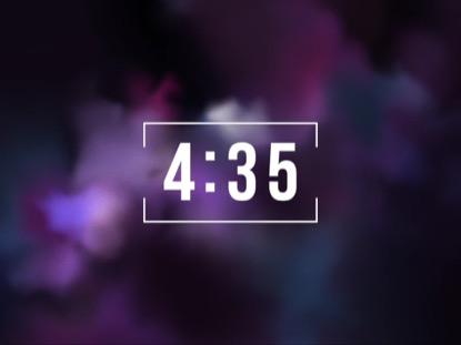 VIBRANT FOG COUNTDOWN