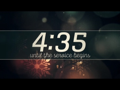 VINTAGE CHRISTMAS LIGHTS COUNTDOWN