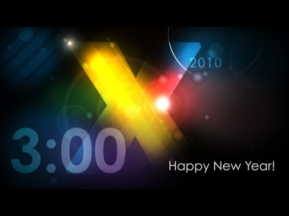 2010 NEW YEAR COUNTDOWN