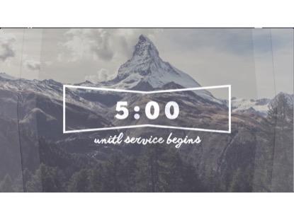 SINGLE MOUNTAIN COUNTDOWN