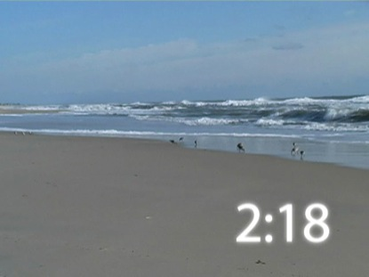 WAVES ROLLING IN COUNTDOWN