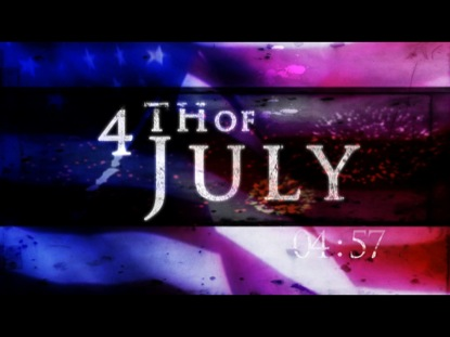 4TH OF JULY COUNTDOWN
