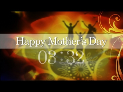 HAPPY MOTHER'S DAY COUNTDOWN