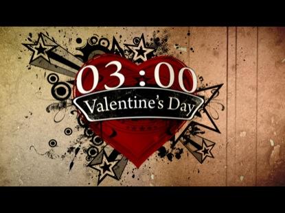 VALENTINES DAY GRUNGE COUNTDOWN