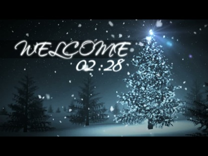 WELCOME CHRISTMAS TREE COUNTDOWN