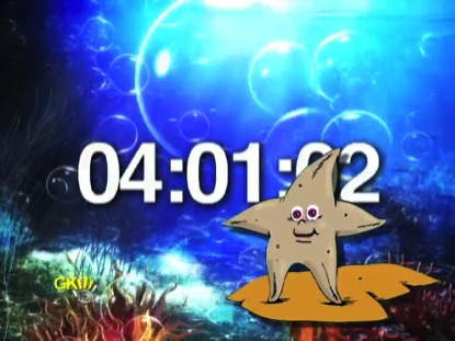 BUBBLES AND THE STARFISH COUNTDOWN