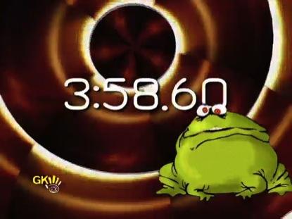 FAT FROG AND HIS CROAK BURP COUNTDOWN