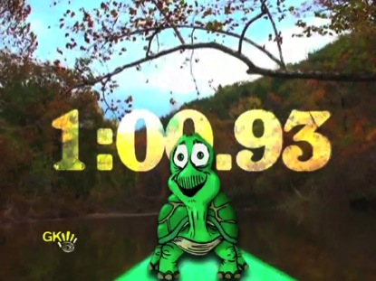 TURTLE IN THE CANOE COUNTDOWN
