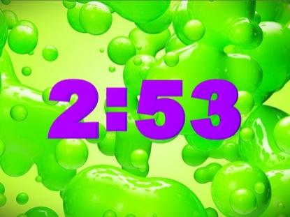 GREEN SLIME COUNTDOWN