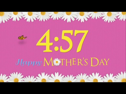 MOTHER'S DAY FLOWER COUNTDOWN