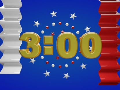 PATRIOTIC STARS AND STRIPES COUNTDOWN