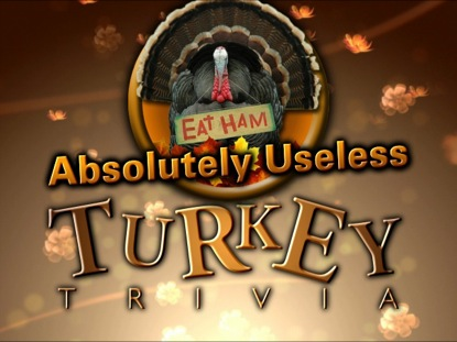 THANKSGIVING TURKEY TRIVIA COUNTDOWN