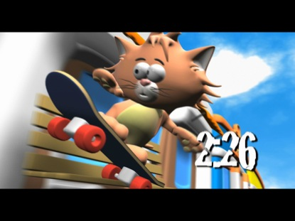 SKATER CAT COUNTDOWN