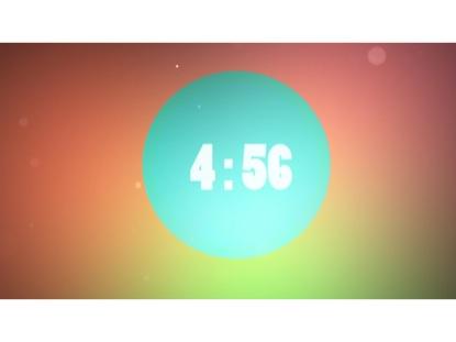 SIMPLE COLOR COUNTDOWN