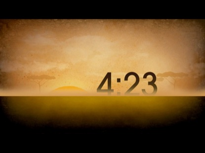 AFRICA SUNSET COUNTDOWN