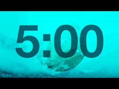 GEOMETRIC MOUNTAIN COUNTDOWN
