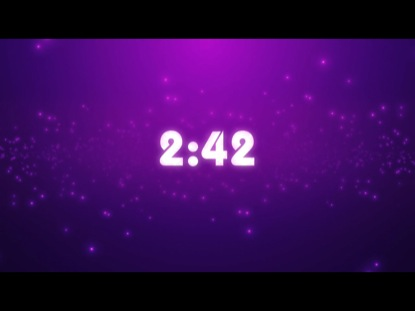 PURPLE PARTICLES COUNTDOWN