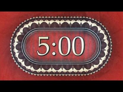 RETRO RED COUNTDOWN