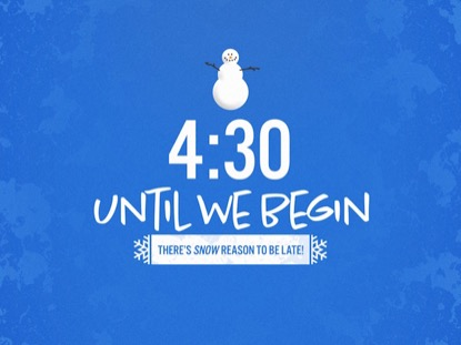 SNOWMAN COUNTDOWN