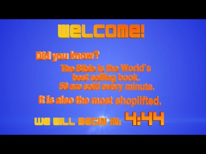 """DID YOU KNOW"" BIBLE FACT COUNTDOWN"
